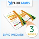 Assinatura XBox Live Gold 3 Meses - XBox Live Gold 3 Month